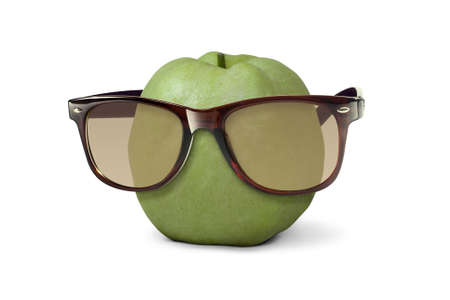 Sunglasses on Guava photo