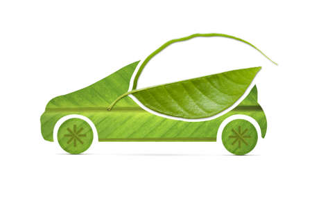 Leaf eco Car Stock Photo - 20438286