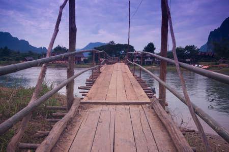 laotian: Wood bridge II