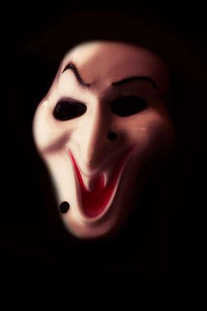 halloween mask: Halloween mask on a black background