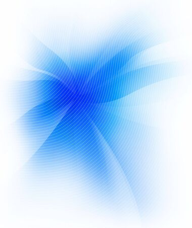 An illustration of blue colors