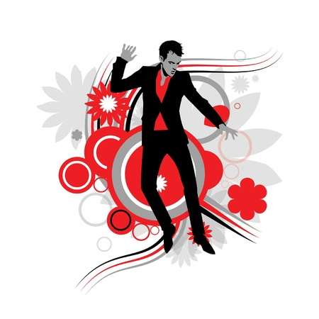 Man dancing Banque d'images - 20438822