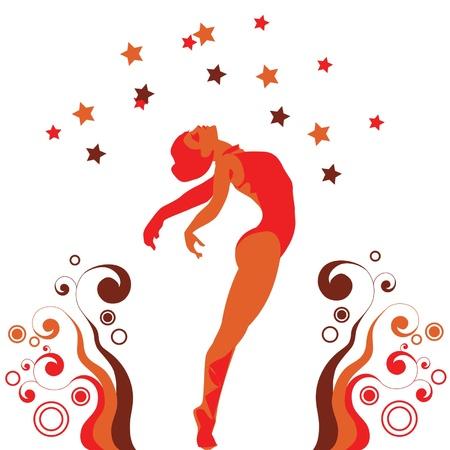 woman ballet