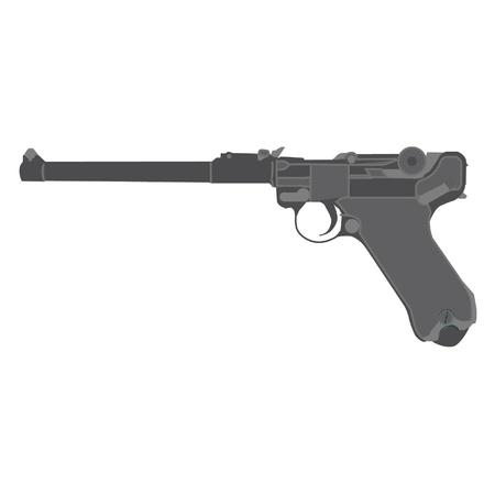 luger: pistol luger