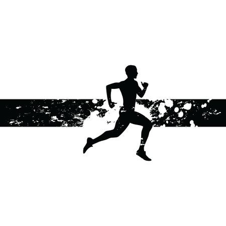 man joggen