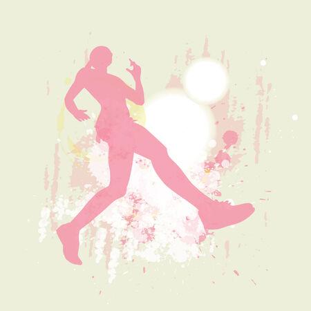 女の子 joggnig