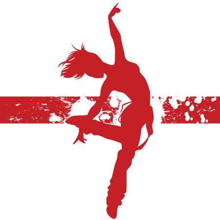 female dancing