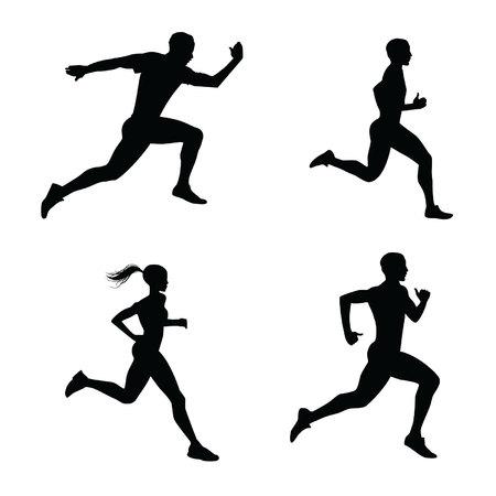 runners silhouette
