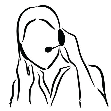 tech support girl