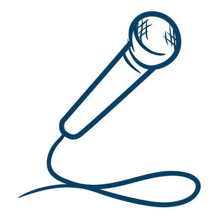 microphone blue
