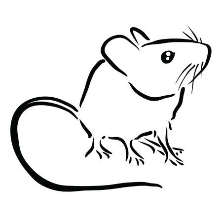 マウス  イラスト・ベクター素材