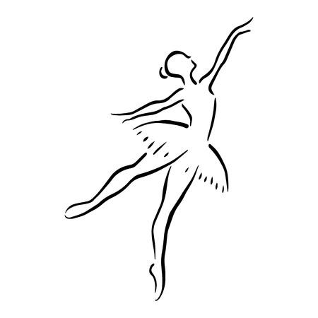 Ballet féminin Banque d'images - 42813085