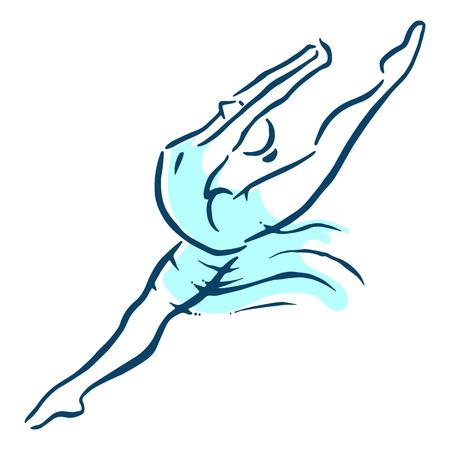 Ballet féminin Banque d'images - 42813214