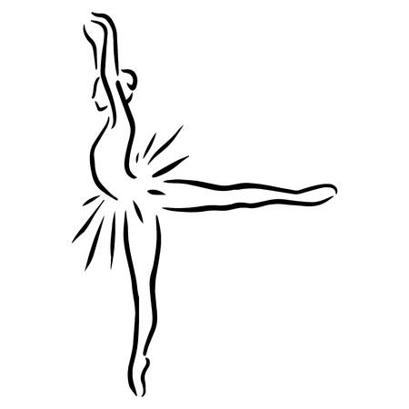 flexible girl: ballet female