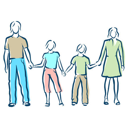 breeders: family Illustration
