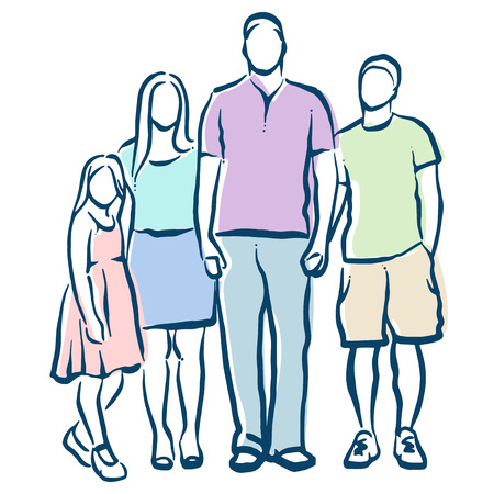 kin: family Illustration