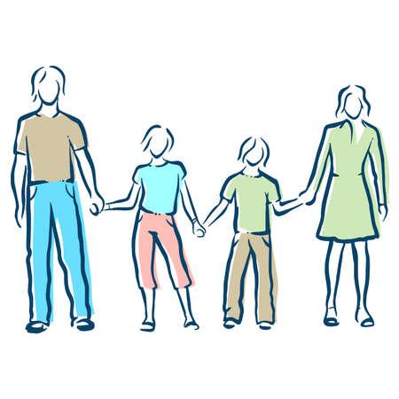 family Ilustrace