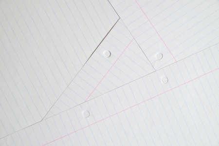 dopisní papír: několik listů psaní eseje. Výchova a vzdělávání