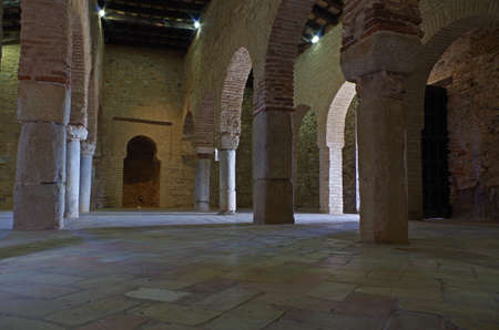 Mosque of Almonaster, a famous travel attraction in Huelva. Andalucia, Spain Imagens - 81114629