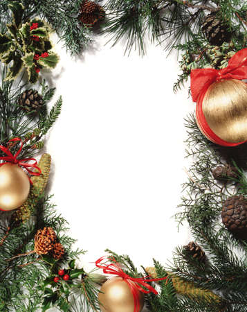 Christmas ornament - frame Stock Photo - 281074