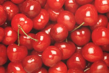 Cherries texture Stock Photo