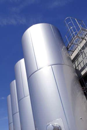 industrial metallic tanks