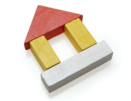 wooden toy's house2 Stock Photo - 300608