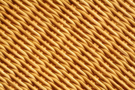 texture of rattan - detail of a basket Stock Photo