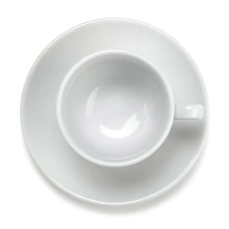 empty coffee cup