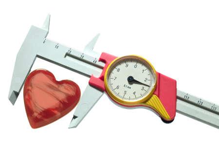 caliper and heart