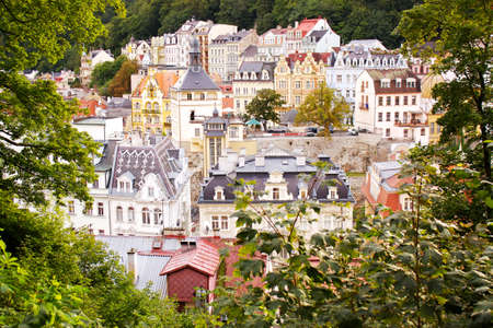 vary: City view of Karlovy Vary