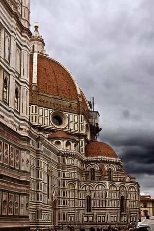 duomo: Main cathedral of Florence Duomo. Italy.