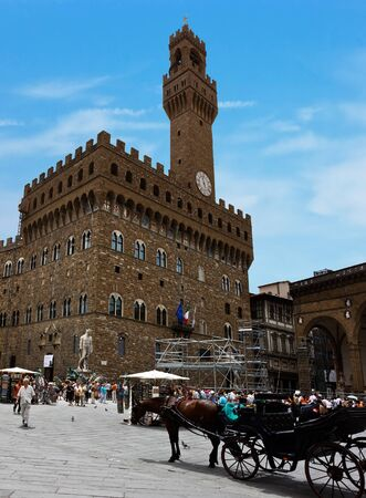 Famous Palazzo Vecchio. Italy. Florence. photo