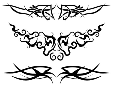 Patterns of tribal  for design use Vector