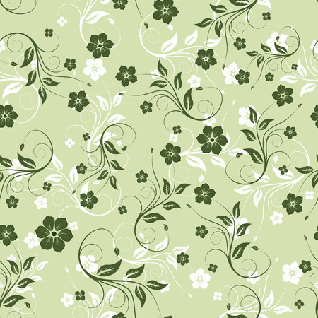 Floral seamless background for yours design usage Stock Vector - 3237092