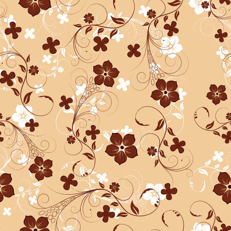 Floral seamless background for yours design usage Vector