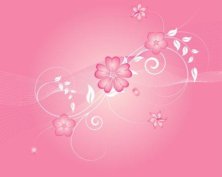 Rose floral background ornate for design usage Stock Vector - 3269541