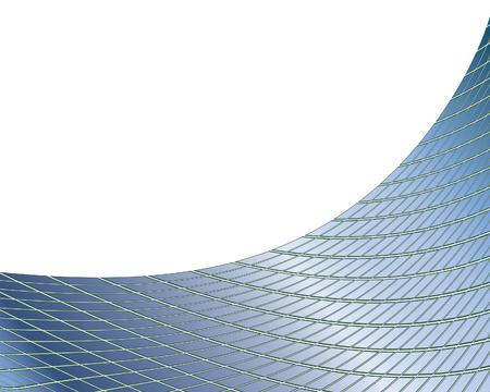 Abstract background controllati con gradienti e prospettive Vettoriali