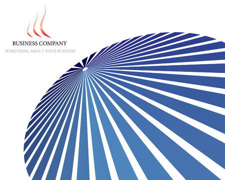 Abstract company page background for business use Vector