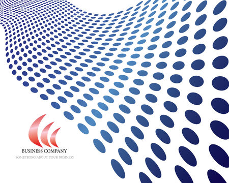 Abstract company page background for  use Vector