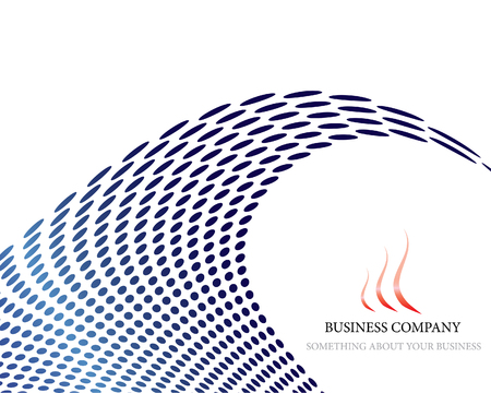 Abstract company page background for business use