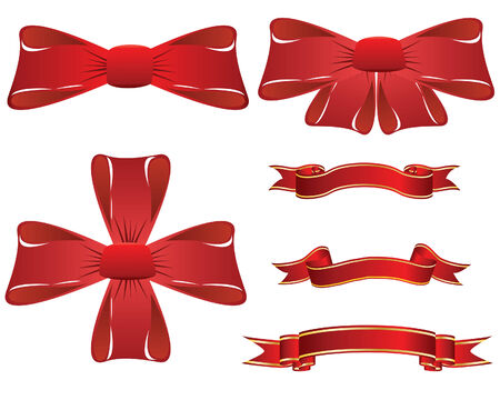 Set of different vector Christmas elements for design use Vector