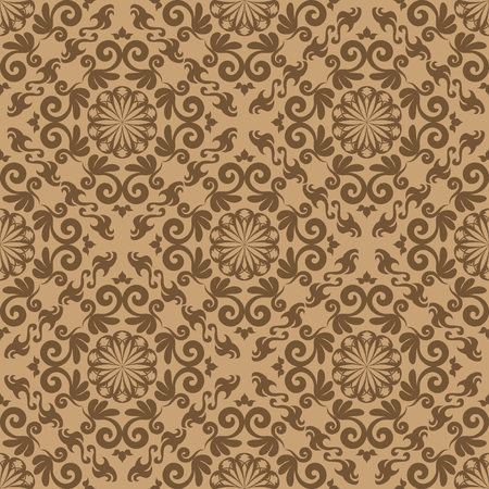 Abstract seamles vector background in victorian style Stock Vector - 4128338