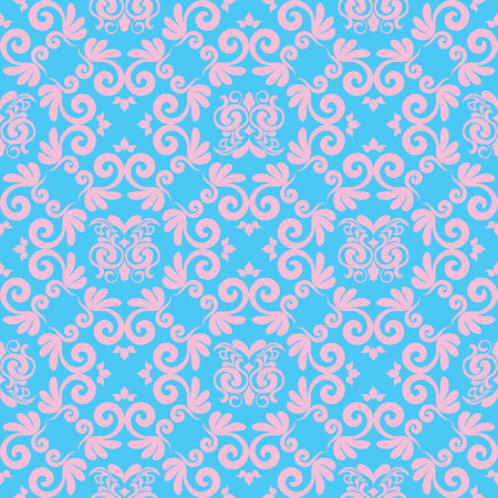 Abstract seamles vector background in victorian style Vector