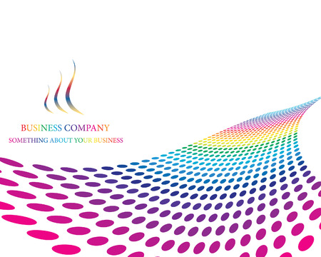 Abstract colourful business background for design use Vector