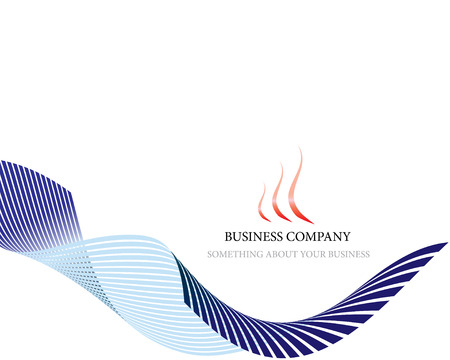 airs: Abstract vector corporate background for design use