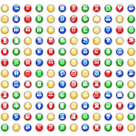 boton stop: Mayor colecci�n de diferentes iconos para usar en dise�o web