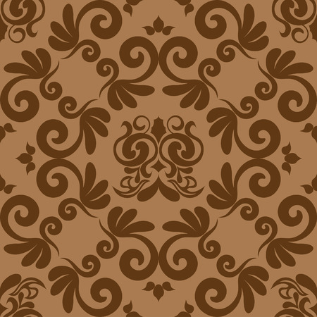 repeating pattern: Damask seamless background for yours design use. For easy making seamless pattern just drag all group into swatches bar, and use it for filling any contours.