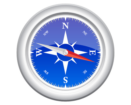 directions: Compass pattern with transparency effect for design use