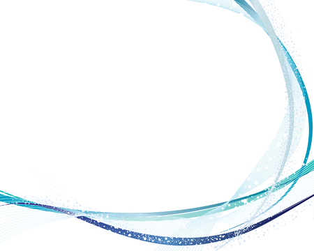 Abstract vector frame background with  bubbles spray Vector